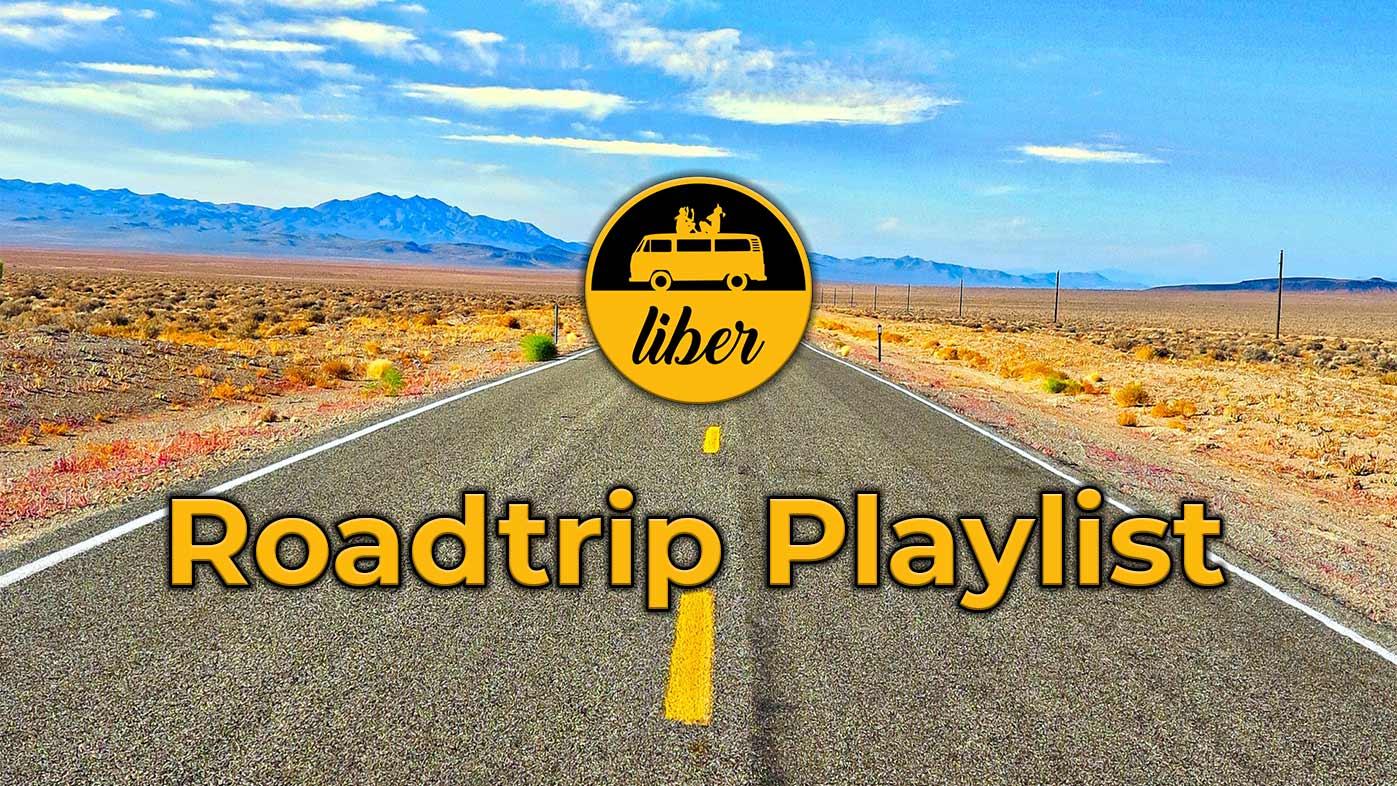 Roadtrip Playlist Bulli fahren und Musik hören