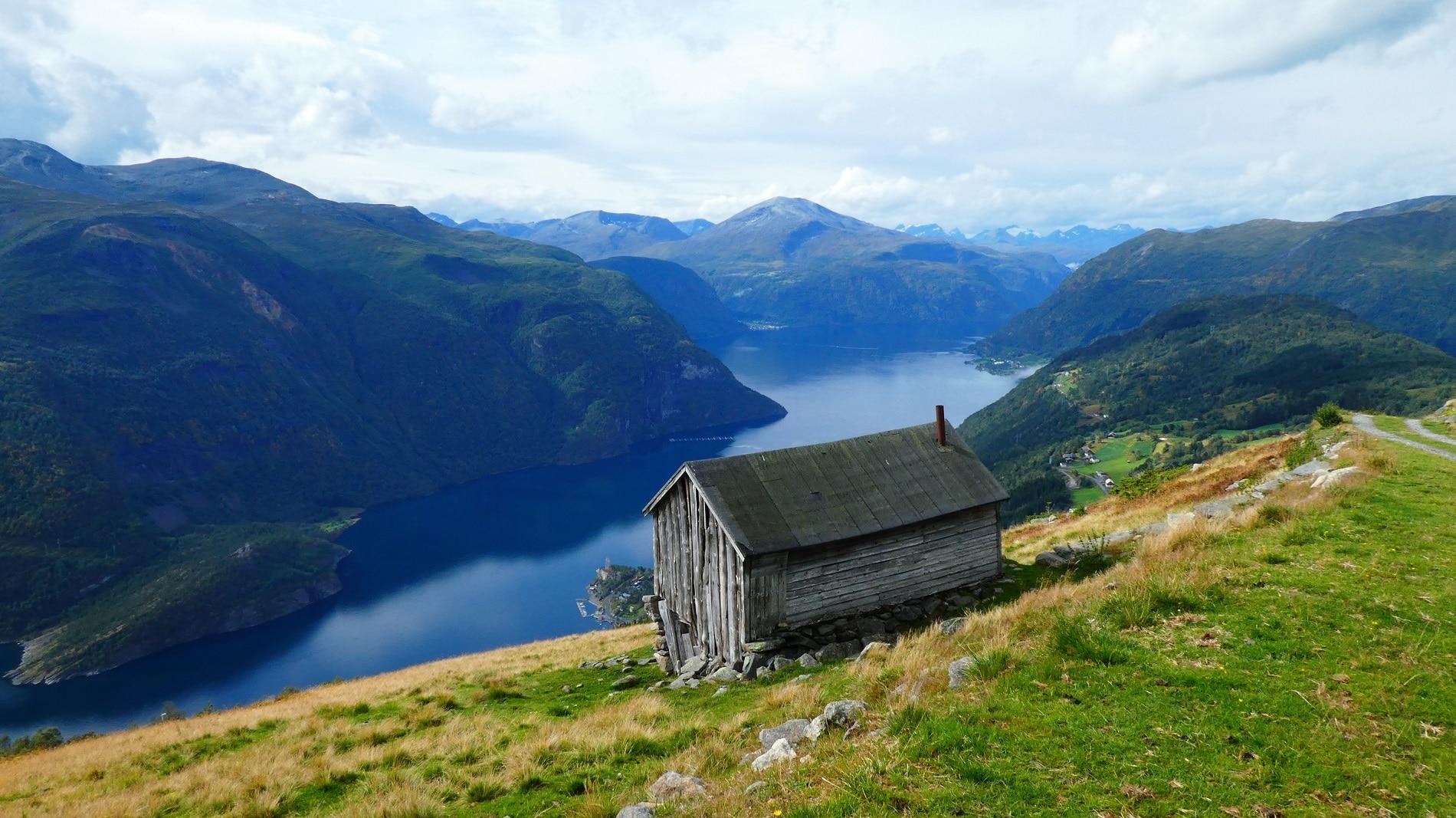 Syltefjellet und Mefjellet Norwegen