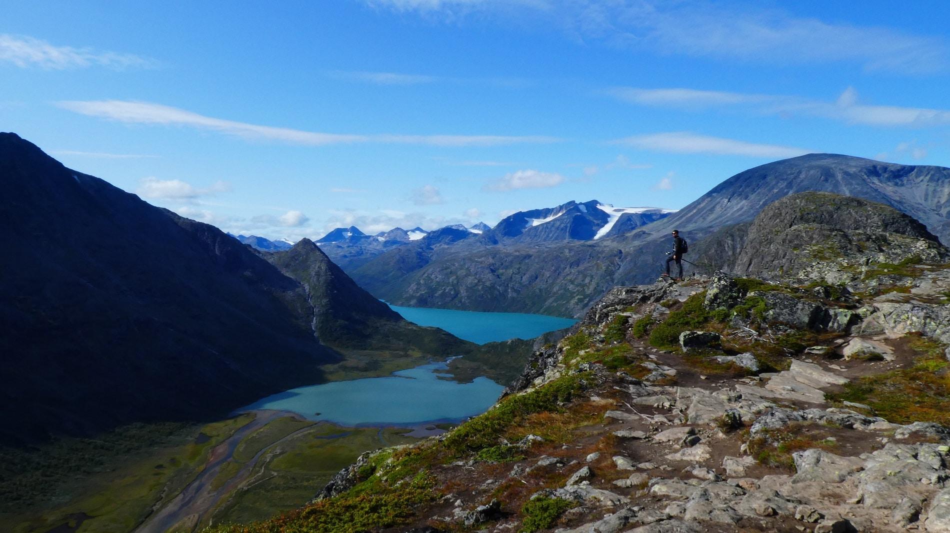 Knutshoe Berg Norwegen 1517 Meter