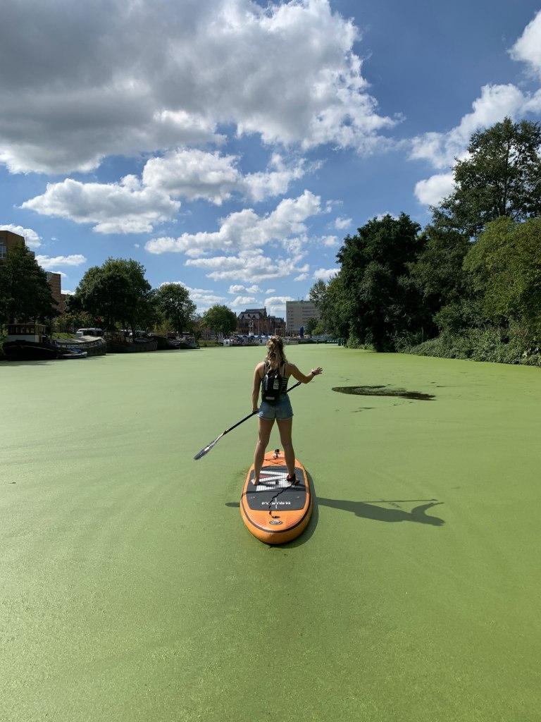 Niederlande Groningen SUP Standup Paddle