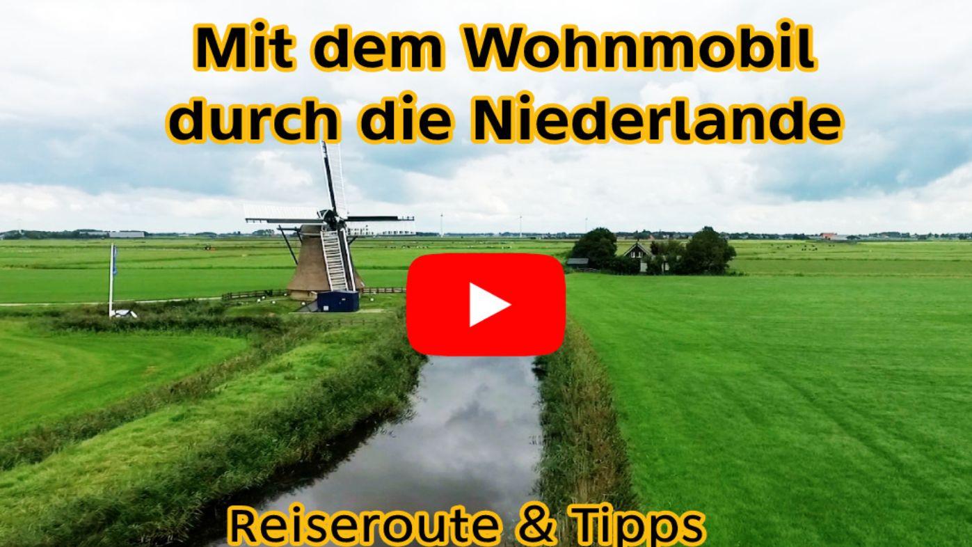 Mit dem Wohnmobil durch die Niederlande Beitragsbild