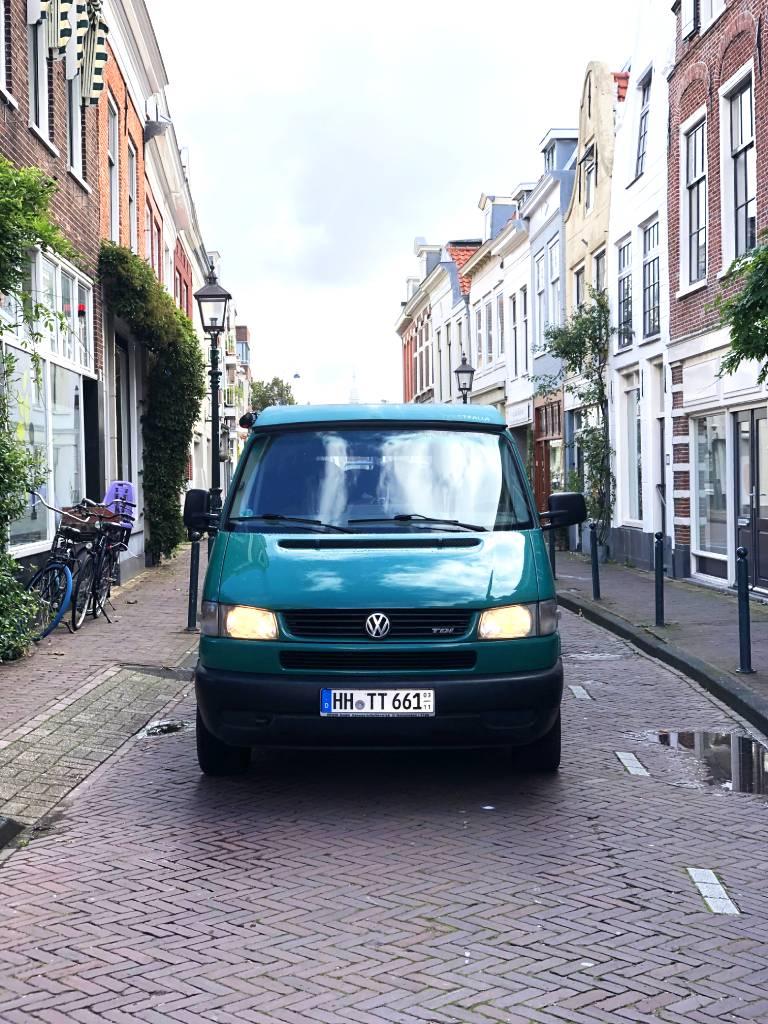 Niederlande Haarlem Wohnmobil